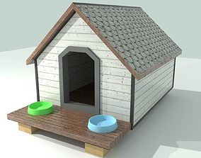 3D model Classic Doghouse PBR - Real world scale