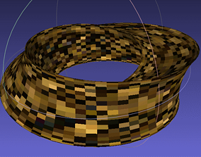 3D Parametric Surface UmbilicTorus