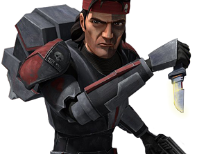 Hunter clone force 99 the bad batch 3D printable model 1