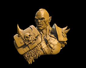 3D print model Orc Warrior Bust war