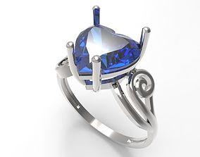 3D printable model Ring Heart STL