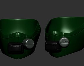gas mask helmet scifi high poly sculpt 3d printable ver 3