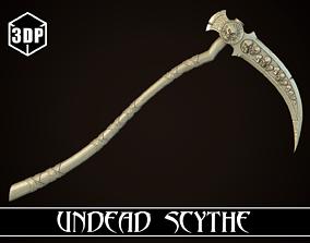 Undead Scythe 3D printable model