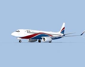 3D rigged Boeing 737-800 Max Arik