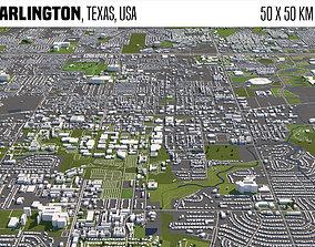 3D model Arlington Texas