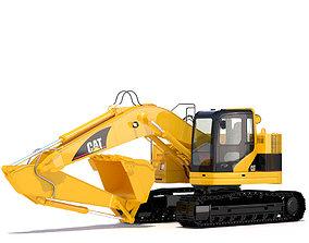Compact Excavator 3D