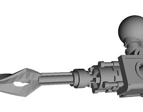 Lightning spear for Mars and Proteus 3D printable model 2