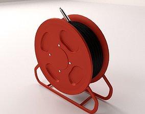 3D Fire Hose Reel