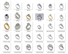 Engagement Rings 3D print model