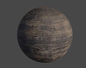 3D Old Wood - PBR