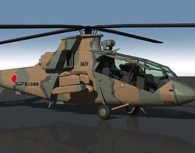 3D Japan Ground Self-Defense Force OH-1 Reconnaissance 2