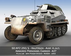 SDKFZ 250 - Halftruck - 16 Pz Div 3D model