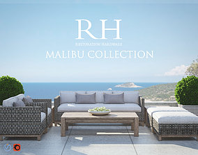 3D Restoration Hardware Malibu Collection