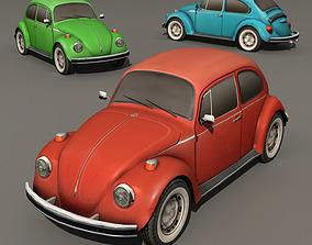 3D asset Beetle