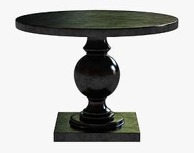 3D model Arcadia Round Pedestal Table