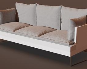 3D model realtime Modern Sofa outdoor