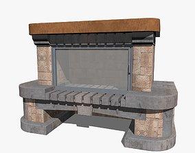 living Fireplace 3D