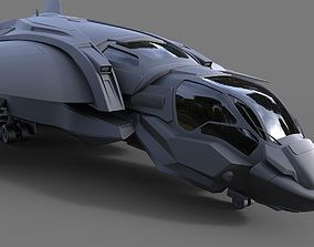 The Quinjet - High poly 3D model