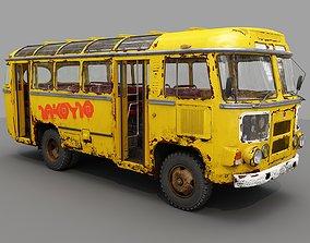 3D asset Bus PAZ - 672