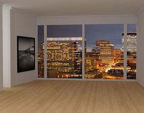 3D asset Apartment Room