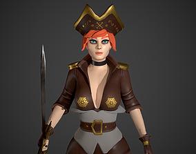 3D model Pirate Stella