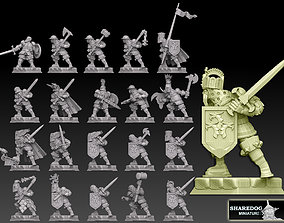 3D print model Medieval Knights Megapack