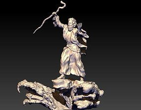 Moses and the red sea opening 3D print model
