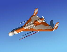 Harpy 1 UAV V01 3D model