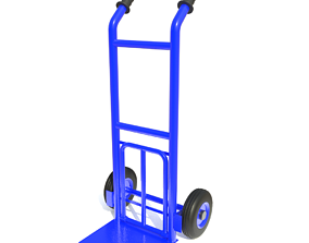 3D 2-Wheel freight trolley