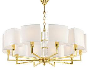 Maytoni Metropolitan H015PL-10G chandelier 3D