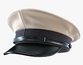 Naval Hat 3D asset