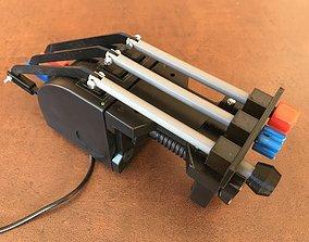 parts Logitech Throttle conversion 3D printable model