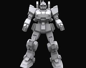 Gundam mobile suit MS RX 79G EZ8 model 3D