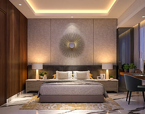 3D model Elegant Bedroom