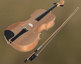 3D model Viola 01 PBR
