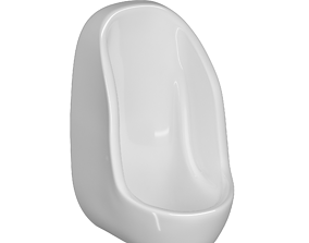 Urinal 3D model Modeled in 3ds max sanitarywares