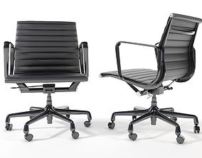 3D Eames Aluminum Group Management Chair