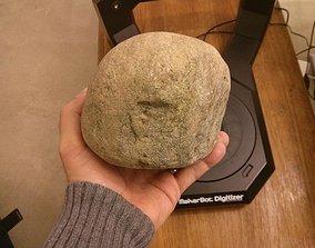 3D print model 2 7 kg round stone