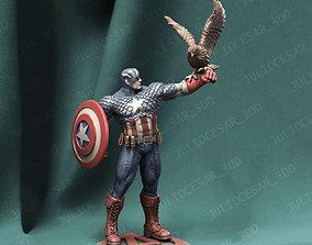 3D print model Captain America classic