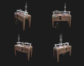 Chemical Worktable 3D model
