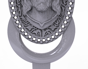 pendants Jesus Pendant 3D print model