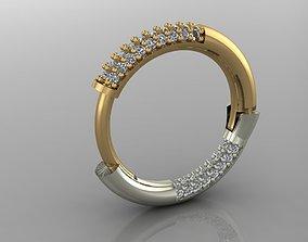 3D print model GC GOLD E067- Diamond Cartilage Earring