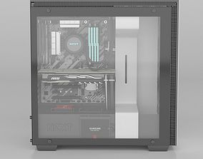 3D NZXT H700 i PC decktop
