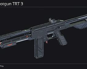 Scifi Shotgun TRT 3 3D asset