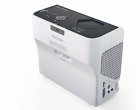 Office Video Projector Ricoh 3D