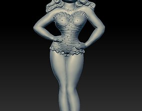 Doll Lilu - relief - 2019 3D printable model