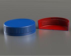 3D printable model packing Bottle Screw Cap