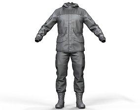 3D model Military Uniform Gorka