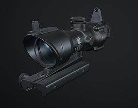 3D asset Trijcon ACOG scope 4x32