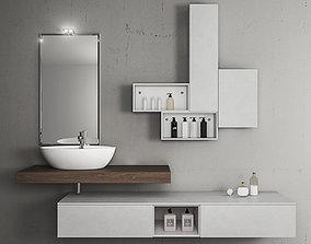 Bathroom furniture set Arcom eLy 3D